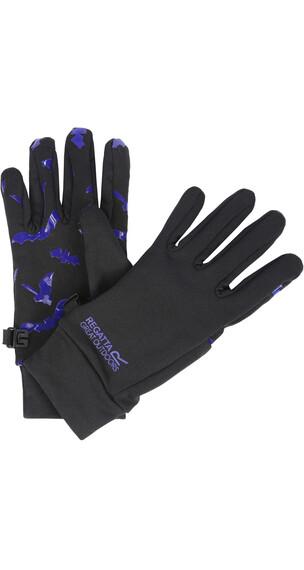 Regatta Grippy Handschoenen Kinderen zwart